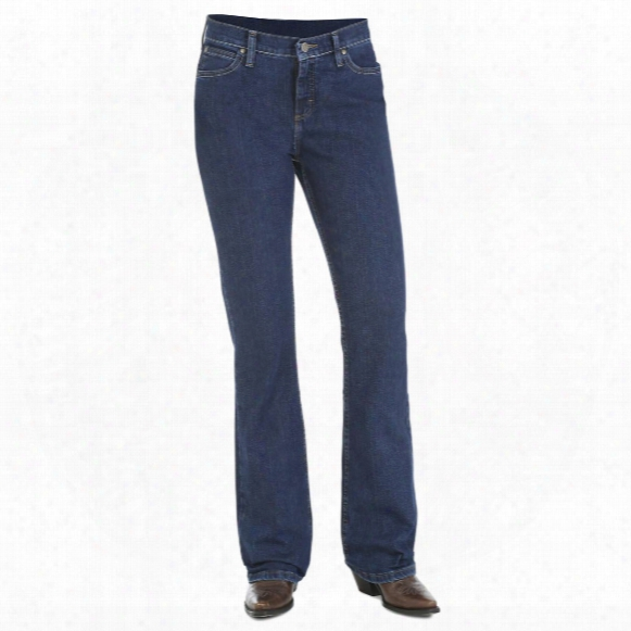 As Real As Wrangler Misses Classic Fit Boot Cut Jeans, Cw Wash