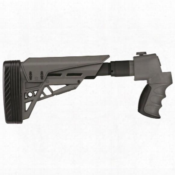 Ati Tactlite Strikeforce Folding Shotgun Stock, Gray, For Mossberg / Remington / Winchester 12 Gauge