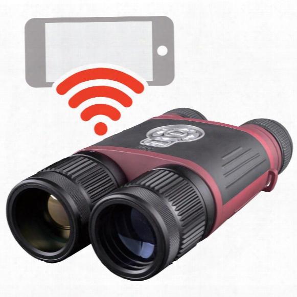Atn Binox-thd 640 2.5-25x50mm Digital Thermal Binoculars