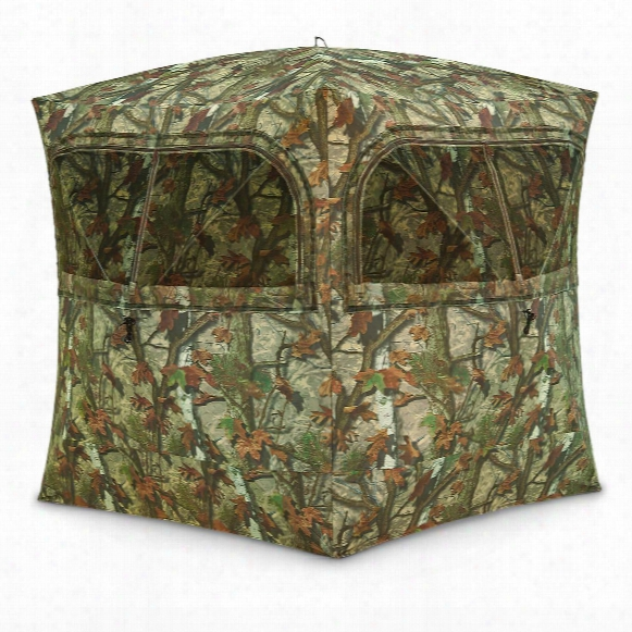 Barronett Blinds Grounder 350 Hunting Blind, Bloodtrail Woodland Camo