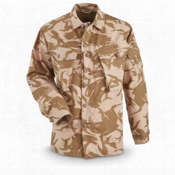 British Military Surplus Fire-retardant Jacket, New