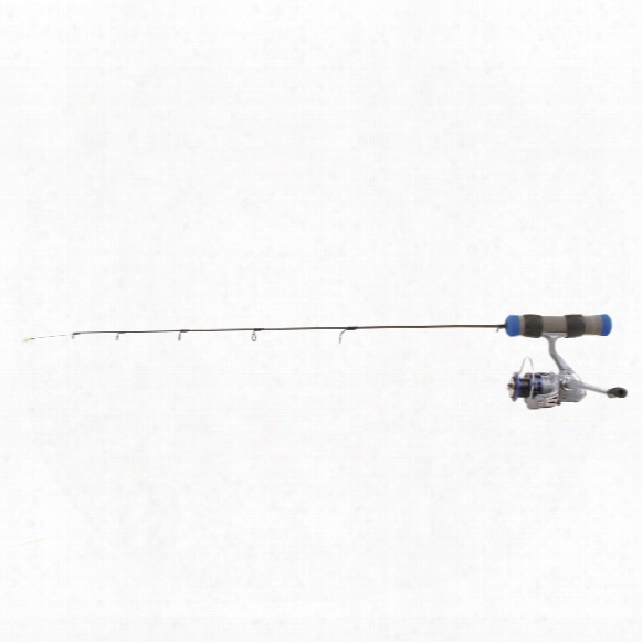 "Clam Dave Genz 25"" Spring Bobber Ice Fishing Rod And Reel Combo, Light Action"