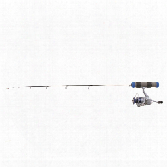 "Clam Dave Genz 27"" Spring Bobber Ice Fishing Rod And Reel Combo, Medium-light Action"