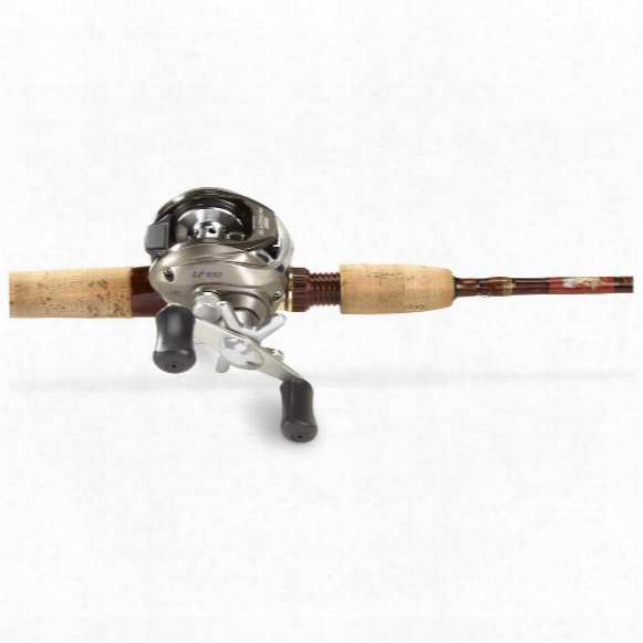 Classic Graphite Series 6' Casting Rod With Pinnacle Platinum Plus Baitcasting Reel Combo