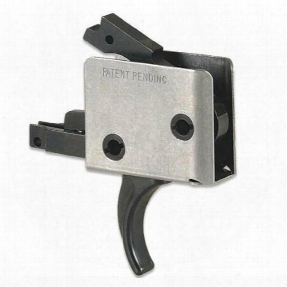 "Cmc Triggers Ar-15 Drop-in Curvetrigger, .154"" Small Pin, 2-stage Match, 2-lb. / 2-lb."