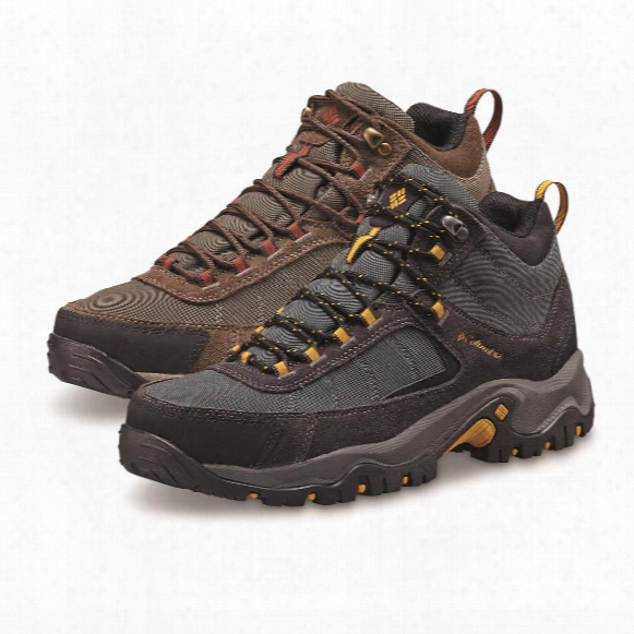 Columbia Men's Granite Ridge Waterproof Mid Hiking Boots