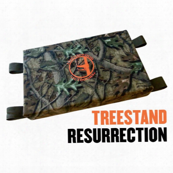 Cottonwood Outdoors Weathershield Convertible Seat Cushion, Clear Cutt Camo