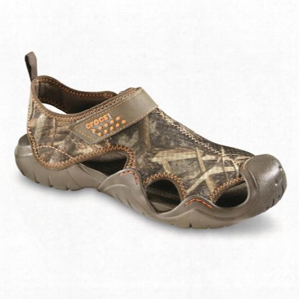 Crocs Men's Swiftwater Realtree Max-5 Sandals