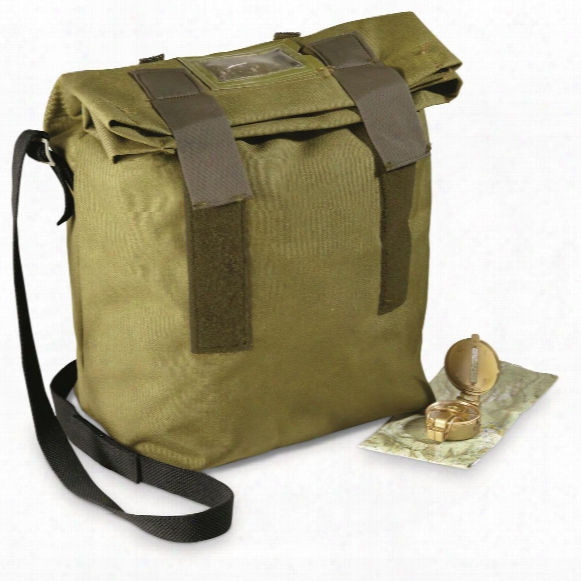Danish Military Surplus Helmet Shoulder Bags, 2 Pack, New