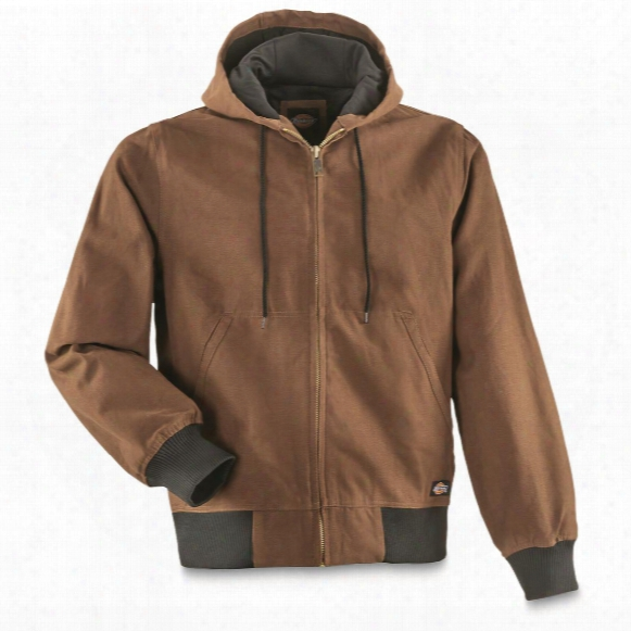 Dickies Men's Duck Thermal Lined Hooded Jacket