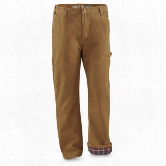 Dickies Men's Factory Second Flannel Duck Jeans