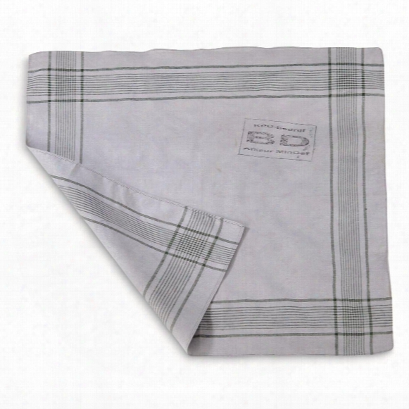 Dutch Military Surplus Handkerchiefs, 10 Pack, Just Discovered