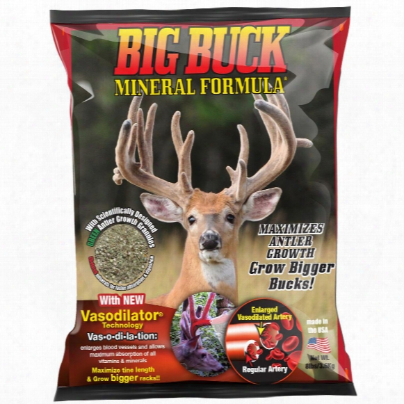 Extreme Hunting Solutions Big Buck Mineral Formula, 8 Lbs.
