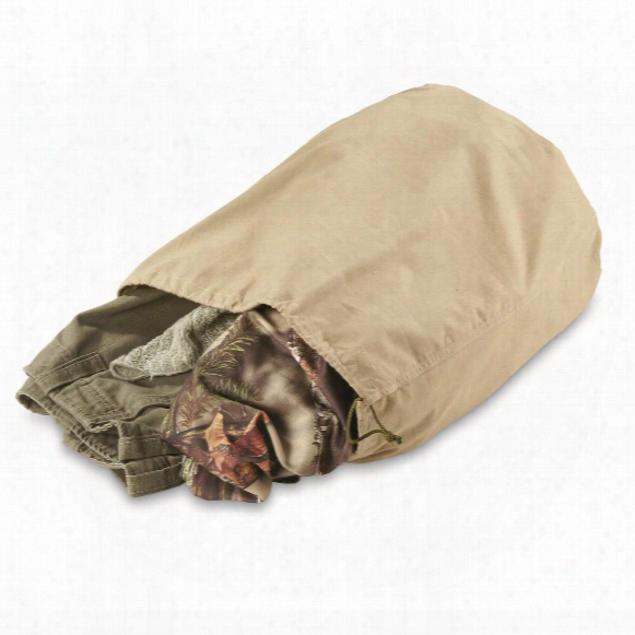 French Military Surplus Laundry Bags, 4 Pack, Like New