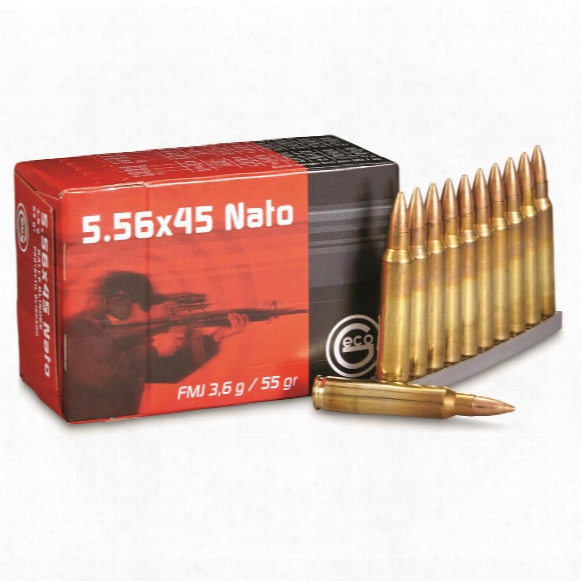 Geco, .223 (5.56x45mmm), Fmj, 55 Grain, 1,000 Rounds