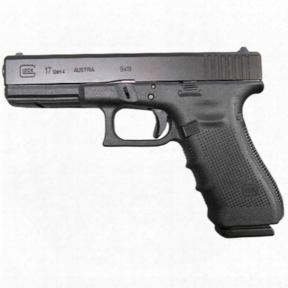 "Glock 17 Gen 4, Semi-automatic, 9mm, 4.49"" Barrel, 10 Rounds"