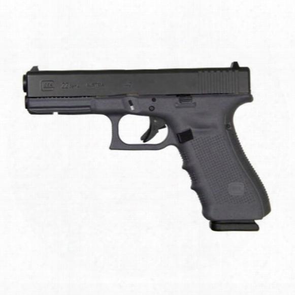 "Glock 22 Gen4, Semi-automatic .40 Smith & Wesson, 4.49"" Barrel, 15+1 Rounds"