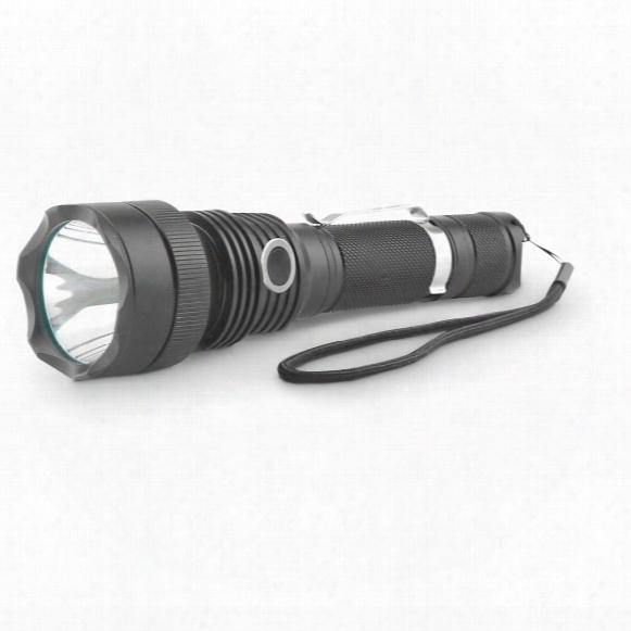 Guard Dog Xcess Rechargeable Tactical Flashlight, 550 Lumen