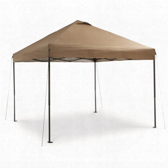 Guide Gear Deluxe Straight Leg Pop Up Canopy, 10' X 10'
