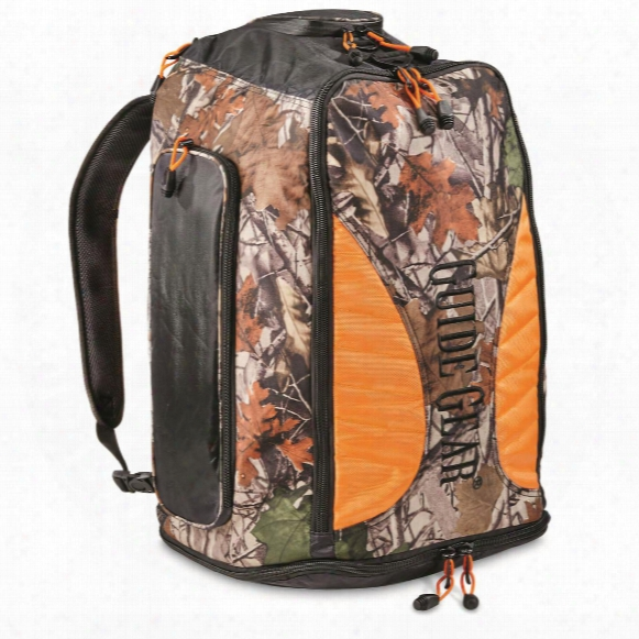 Guide Gear Hunting/outdoor Convertible Backpack To Duffel Bag