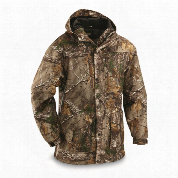 Guide Gear Men's Wood Creek Packable Rain Parka