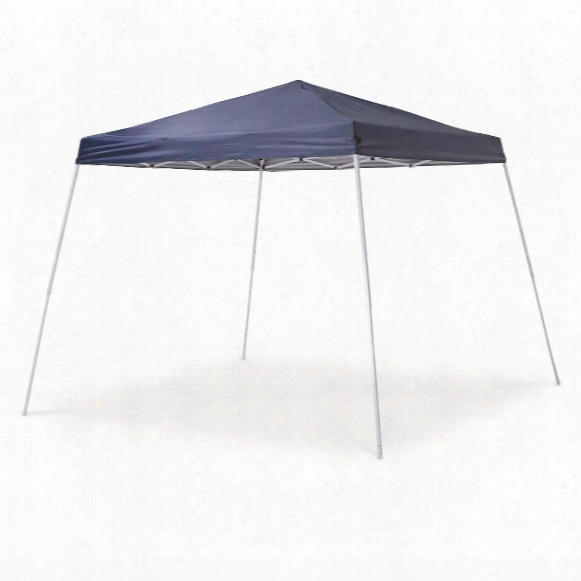 Guide Gear Slant Leg Pop Up Canopy, 10' X 10'
