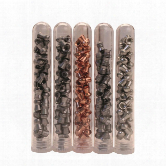 H&n Hunting Pellet Sampler Packs, .177/.22 Caliber, 215/155 Pellets