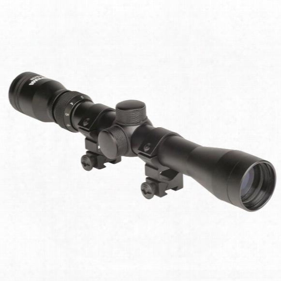 Hatsan Optima 3-9x32 Pellet Rifle Scope With Scope Mounts