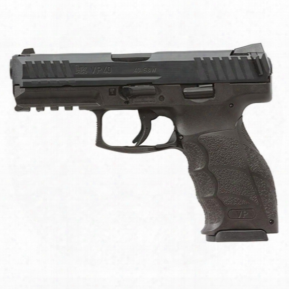 "Heckler & Koch Vp40, Semi-automatic, .40 Smith & Wesson, 4.09"" Barrel, 13+1 Rounds"