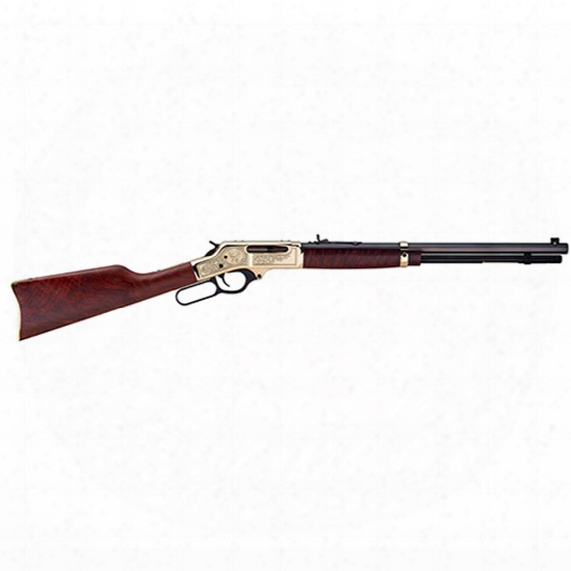 """Henry .30-30 Brass Wildlife Edition, Lever Ac Tion, .30-30 Winchester, 20"""" Octagonal Barrel, 5 Rounds, 5 Round Capacity"""