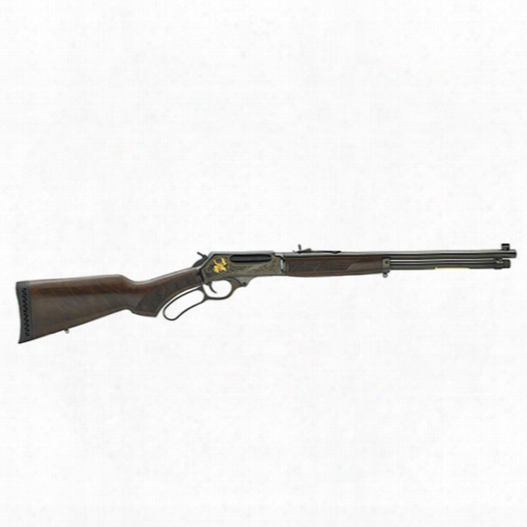 "Henry 45--70 Steel Wildlife Edition, Lever Action, .45-70 Government, 18"" Barrel, 4 Rounds, 4 Round Capacity"