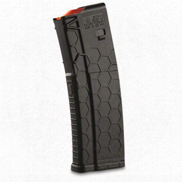 Hexmag Ar-15, 5.56 Nato/.223 Remington/.300 Aac Blackout Caliber Magazine, 15 Rounds