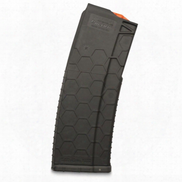 Hexmag Ar-15, 5.56 Nato/.223 Remington/.300 Aac Blackout Caliber Magazine, 15 Rounds, Gray