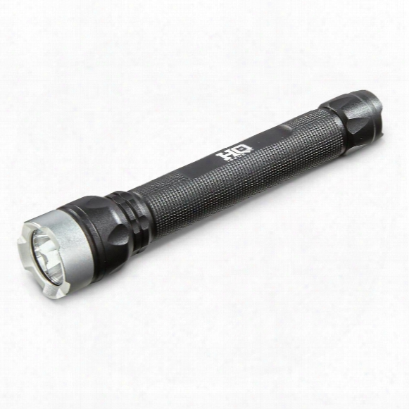 Hq Issue Indestructible Pro Series Flashlight, 180 Lumen