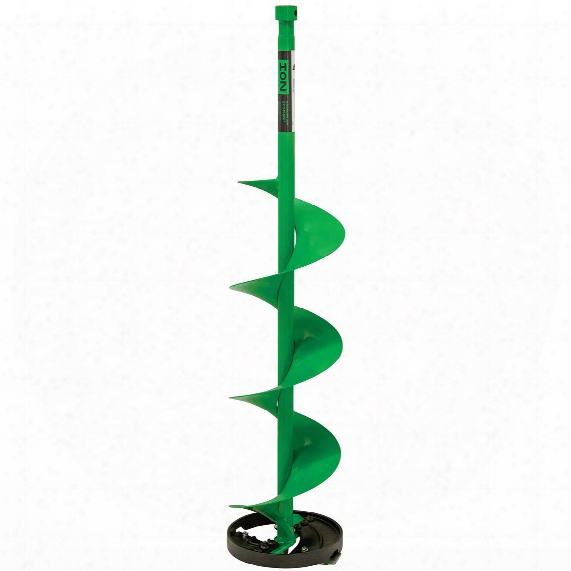 """Ion Cast Bottom Ice Fishing Auger Bit, 8"""" Or 10"""""""