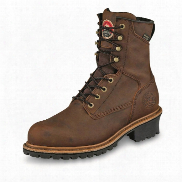 "Irish Setter Men's Mesabi Waterproof 8"" Loger Boots"