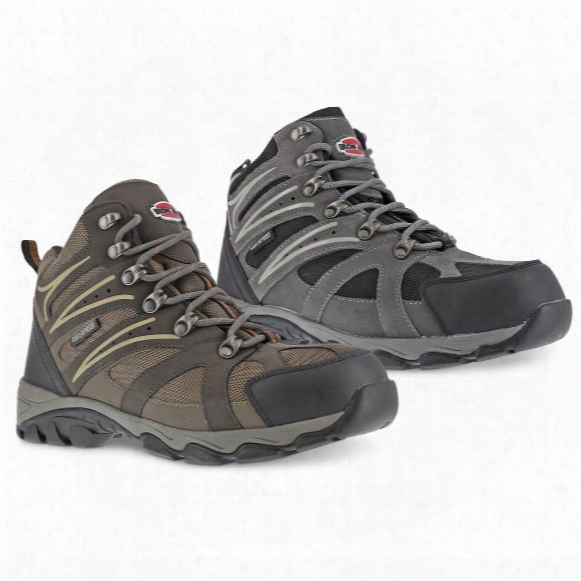 Iron Age Men's Steel Toe Surveyor Waterproof Hiking Boots