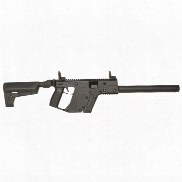 "Kriss Vector Gen Ii Crb Black, Semi-automatic, 9mm, 16"" Barrel, 17+1 Rounds"
