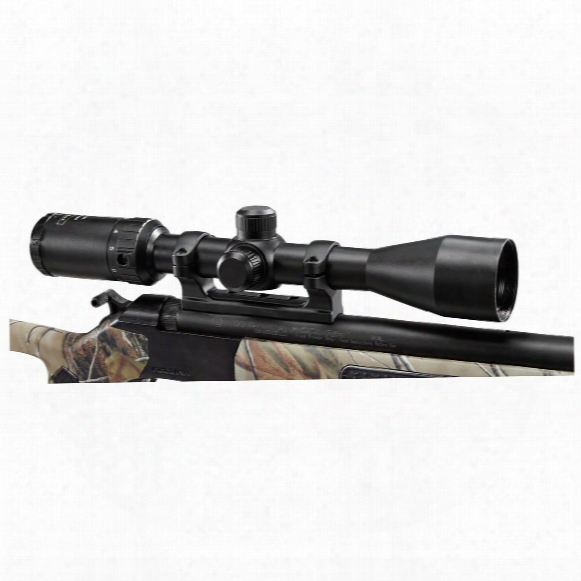 Leatherwood Hi-lux Toby Bridges Hpml 3-9x40mm Black Powder Rifle Scope