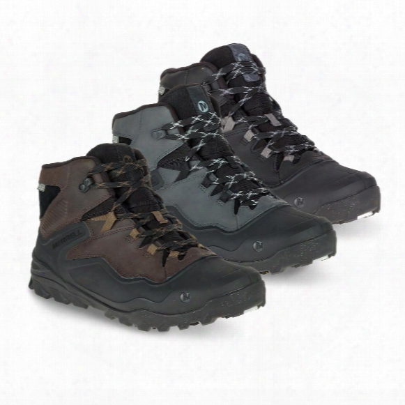 Merrell Men's Overlook 6 Ice+waterproof Hiking Boots, 200 Gram Insulation