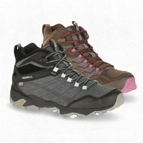 Merrell Women's Moab Fst Mid Waterproof Hiking Boots