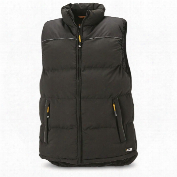 Military Surplus Jcb Contractor Insulated Vest, New