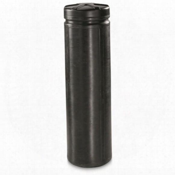 """Mono Gun Vault, 12""""x46.5""""h, 40.5"""" Round"""