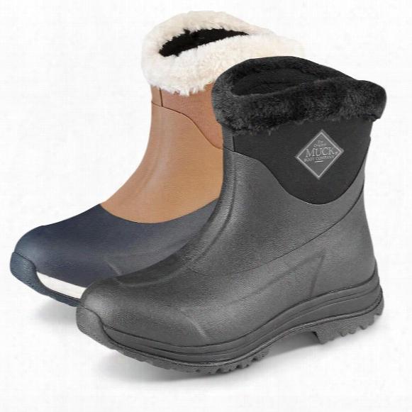 Muck Women's Arctic Apres Slip-on Waterproof Rubber Boots