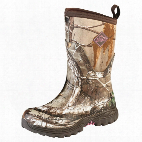 Muck Women's Arctic Hunter Mid Rubber Hunting Boots