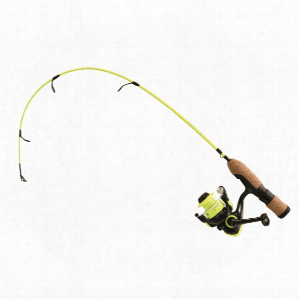"No. 8 Tackle Sonicor Ice Combo 24"" Ultra Light Rod And Spinning Reel"