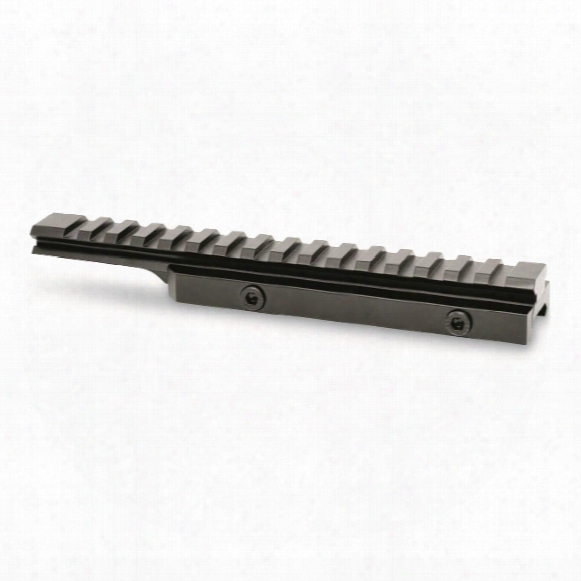 "Picatinny Rail Scope Mount 20moa 1/2"" Riser With Forward Cantilever"