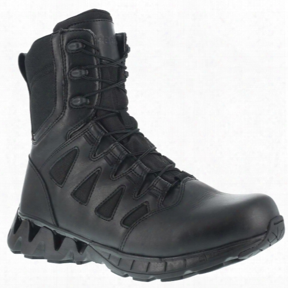 Reebok Duty Zigkick Sz Men's Tactical Boots, Side Zip