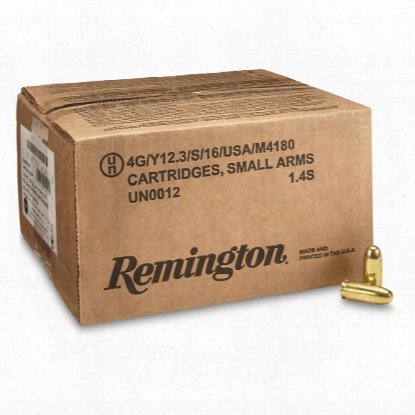 Remington Umc, .45 Acp, Fmj, 230 Grain, 500 Rounds, Loose Bulk