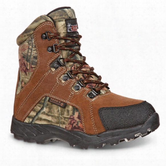 "Rocky Kids' 5"" Waterproof Insulated Hunting Boots"